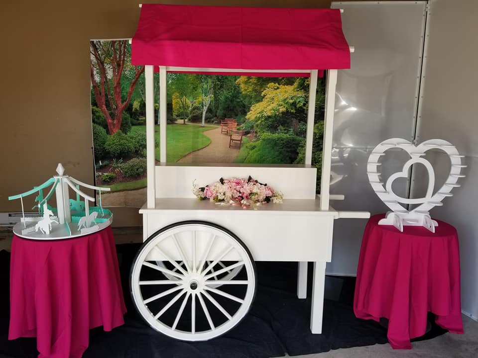 CANDY CART & ACCESSORIES - $200